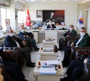 Sinop Üniversitesi Vakfı'nın Ekim Ayı Yönetim Kurulu Toplantısı Yapıldı